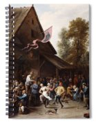 Kermis On St. George's Day Spiral Notebook