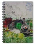 Kettle Moraine Train Spiral Notebook