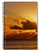 Key West Sunrise 21 Spiral Notebook