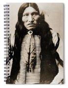 Kicking Bear Indian Chief Spiral Notebook
