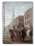 King Charles II Of England Spiral Notebook
