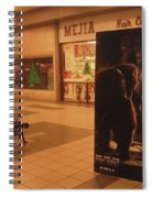 King Kong Remake Poster Mall Casa Grande Arizona Christmas 2005 Spiral Notebook