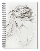 Kiss Of Wind Spiral Notebook