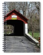 Knecht's Covered Bridge Spiral Notebook