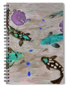 Koi Fish Feng Shui Spiral Notebook
