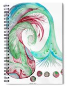Koi Fish-watercolor Spiral Notebook