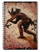 Kokopelli The Flute Player  Spiral Notebook