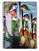 Krishna Prayer  Spiral Notebook