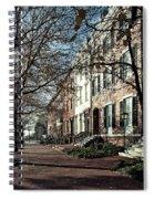 La Fayette Park In Autumn Spiral Notebook