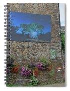 La Gacilly, Morbihan, Brittany, France, Photo Festival Spiral Notebook