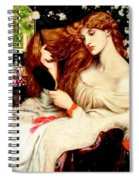 Lady Lilith Spiral Notebook