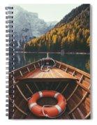 Lago Di Braies Spiral Notebook