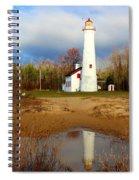 Lake Huron Lighthouse Spiral Notebook