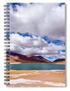 Lake Meniques In Chile Spiral Notebook