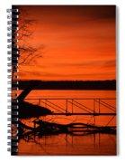 Orange You Glad I Took This Shot Spiral Notebook