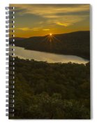 Lake Of The Clouds Sunrise Spiral Notebook