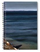 Lake Ontario At Sodus Bay Spiral Notebook