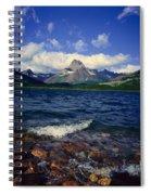 Lake Sherburne, Glacier National Park Spiral Notebook