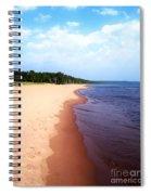 Lake Superior Shoreline Spiral Notebook