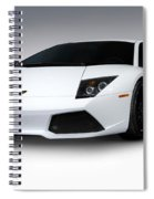 Lamborghini Murcielago Lp640 Coupe Spiral Notebook