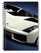 Lamborghini Super Cars Spiral Notebook