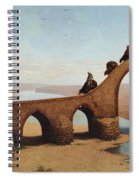 Landscape With Bridge Spiral Notebook
