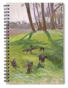 Landscape With Goatherd Spiral Notebook
