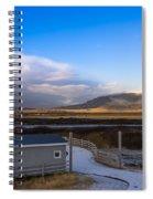 Langjokull  Glacier Spiral Notebook