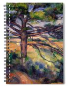 Large Pine And Red Earth Spiral Notebook