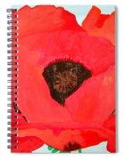 Large Poppy Spiral Notebook