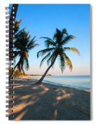 Last Sunbeams Spiral Notebook