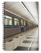 Last Train Home Spiral Notebook
