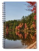 Late Afternoon On Lake Chocorua Spiral Notebook