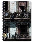 Laundry Day In Havana Spiral Notebook