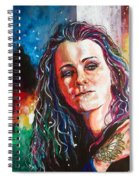 Laura Jane Grace Spiral Notebook