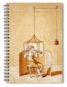 Lavoisiers Respiration Experiments Spiral Notebook