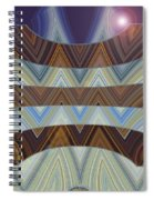 Layers Of Earth And Sky Spiral Notebook