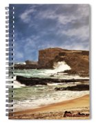 Lazy Day At The Beach Spiral Notebook