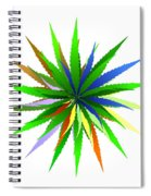 Leaves Of Grass Spiral Notebook