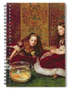 Leisure Hours Spiral Notebook