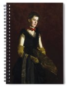 Letitia Wilson Jordan Spiral Notebook