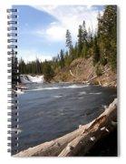 Lewis Falls Spiral Notebook
