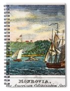 Liberia: Freed Slaves 1832 Spiral Notebook