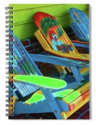 License To Chill Spiral Notebook
