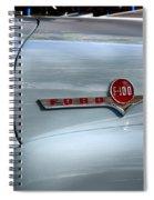Light Blue Ford Pickup Spiral Notebook