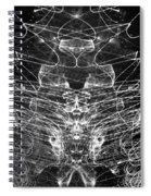 Light Painting Spiral Notebook