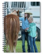 Lil' Cowgirls Spiral Notebook