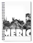 Limerick Ireland Skyline Spiral Notebook