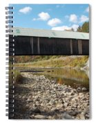 Lincoln Covered Bridge Spiral Notebook