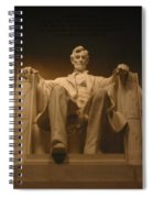 Lincoln Memorial Spiral Notebook